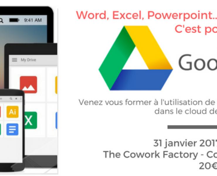 Formation à Google Drive